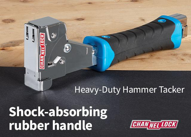 Channellock Heavy-Duty Hammer Tacker