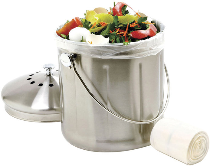 Norpro 1 Gallon Stainless Steel Compost Keeper - Do it Best